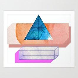 Athena Geometrics Art Print