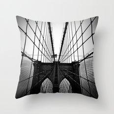 Broolyn Bridge Throw Pillow