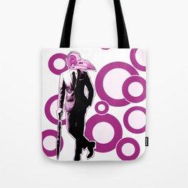 Gentlemen, We got a dead one here.. pink version Tote Bag