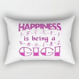 Happiness is Being a GIGI Rectangular Pillow