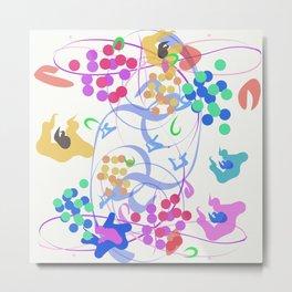 Abstract Garden Nr. 6 Metal Print