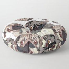 Pug Nation Floor Pillow