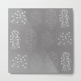 trees /Agat/ Metal Print