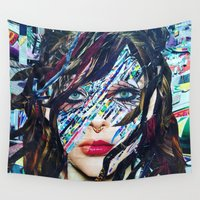 tiffany Wall Tapestries featuring Tiffany by Katy Hirschfeld