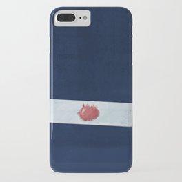 Blood slide iPhone Case