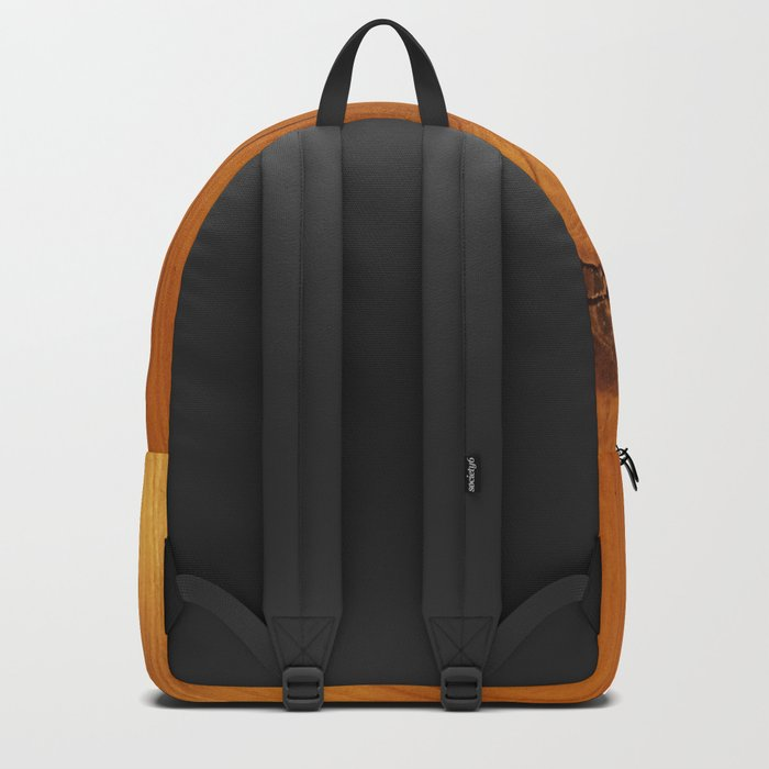 Wooden texture Backpack