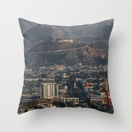 Hermosillo, Sonora, Mexico, City Throw Pillow