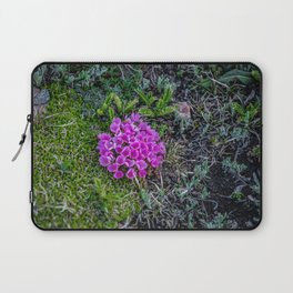 A Dash of Pink at the Top of the World Laptop Sleeve