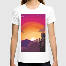 HQ!!: Sunset Walk T-shirt