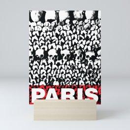 """Poster collection """"Les catacombes de Paris"""" Mini Art Print"""