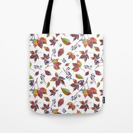 Autumn Grapes Tote Bag