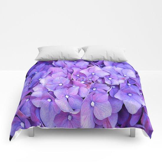 hydrangeas Comforters