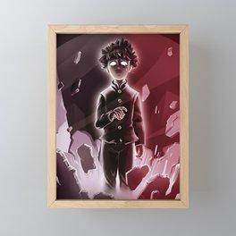 Mob Psycho 100 Framed Mini Art Print