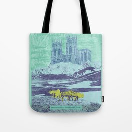 The Lands Where the Reindeer Graze Tote Bag