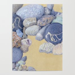 Beach Front I Poster