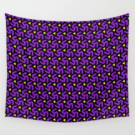 Purple Freeman Armor Wall Tapestry