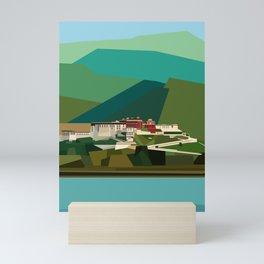 Potala Palace, Lhasa, Tibet, China Mini Art Print