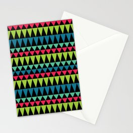 Neon Southwestern Pattern Stationery Cards