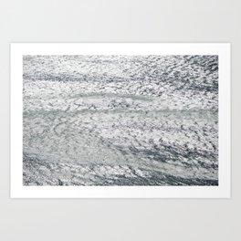 Wave pattern 1 Art Print