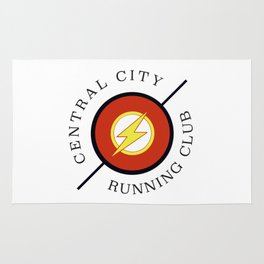 Central City running club Rug
