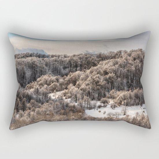 Winter Landscape 3 Rectangular Pillow