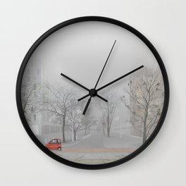 Amsterdam in winter—No.1 Wall Clock