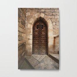 Ceci n'est pas une porte Metal Print