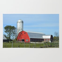 Red Barn Rug