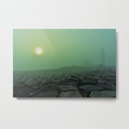 The Fog(Niebla...) Metal Print