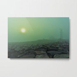 The Fog(Niebla...) Metal Print