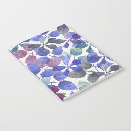 watercolor Botanical garden II Notebook