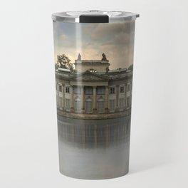 Royal Palace in Warsaw Baths Travel Mug