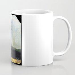 NYC Water Towers Painted on subway fare card Coffee Mug