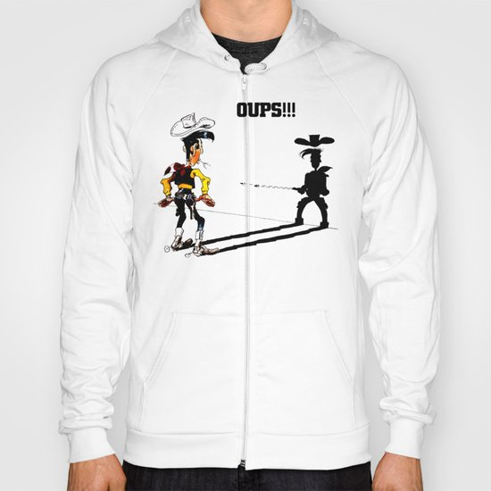 Fast shadow - OUPS - grey version Hoody
