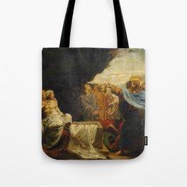 """Théodore Géricault """"La Résurrection de Lazare"""" Tote Bag"""