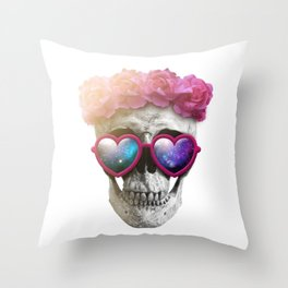"Mortem in Gloria ""Yazz"" Throw Pillow"