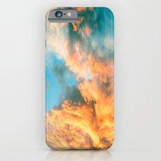 Blue Sunset Clouds  iPhone 6s Slim Case