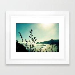 View from Lion Rock Framed Art Print