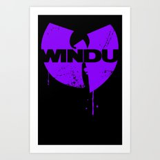 Nothing to mess with variant Art Print