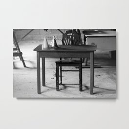 Empty Birthday Party Metal Print