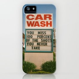 Car Wash  iPhone Case