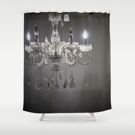 chandelier in NYC Shower Curtain