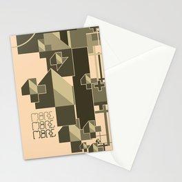 Phallic Attachment Stationery Cards