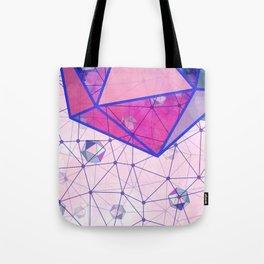 Icosahedron Geometric Shape Constellation Dream Tote Bag