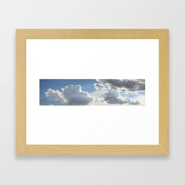 Cloud Panorama '06 #1 Framed Art Print