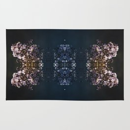 Butterfly illusion Rug