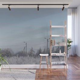 Zone in Winter Wall Mural