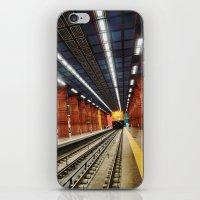 subway iPhone & iPod Skins featuring Subway by Diana Cretu