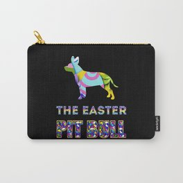 Pit Bull gifts   Easter gifts   Easter decorations   Easter Bunny   Spring decor Carry-All Pouch