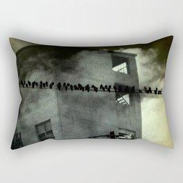 Abandoned Industry Rectangular Pillow